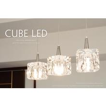 おしゃれ照明ペンダントライト『CUBE LED 3灯タイプ』 製品画像