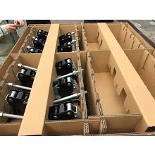 """""""集合包装""""段ボールパレット付ケース(生産性の向上、輸送費の削減 製品画像"""