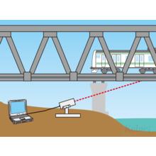 レーザー距離計による桁たわみ計測システム Dポイント 製品画像