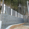 崩壊土砂防護補強土壁『QKウォール』 製品画像