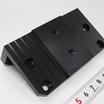 【加工実績】A5052/フライス加工/黒アルマイト処理 製品画像