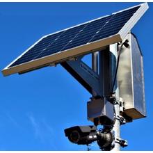 ソーラー監視カメラ SEMI-50J+KER-AHD1080 製品画像