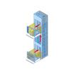 TRAY LIFTER『垂直搬送機 TWB』 製品画像
