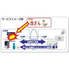 Web改ざん検知サービス Cracker Detect 製品画像