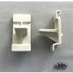 【取り付け用ネジ付】窓シャッター用ストッパーK(白/黒/グレー) 製品画像