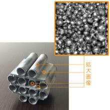 全面連通気孔で複雑形状な多孔質焼結金属 製品画像