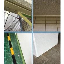 養生のスキマから塗料が漏れ出ない!チリ際塗装養生工法 LCL工法 製品画像