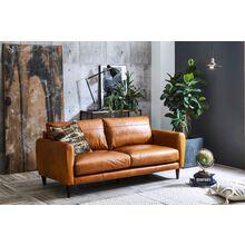 使い込んだ皮のような風合いの布生地を使用した「ソフトテック家具」 製品画像