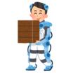 アキシャルギャップ型モータ 想定用途事例 パワードスーツ 製品画像