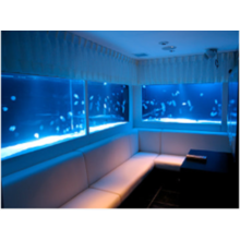 事例集進呈 水・泡・光のディスプレイ、アクアリウムの空間演出 製品画像