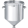ホッパー型ステンレス密閉容器(バンド式) 【HT-CTL】 製品画像