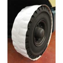 ホワイトタイヤでも、タイヤ痕は付きます 製品画像