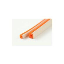 導電・耐熱・防水ガスケット『防水+電磁シールド対応・ダブルD型』 製品画像