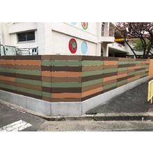 【フェンス・手摺へのご提案】再生木材『アイン・スーパーウッド』 製品画像