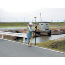 【事例】河川距離標設置 製品画像