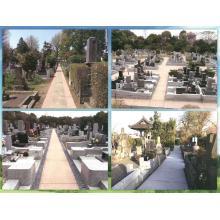 【霊園・墓園用舗装に】透水性高炉スラグ舗装材『カラーサンド』 製品画像