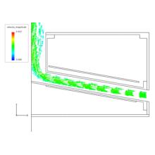 【CAEの受託解析・委託解析・請負】 ノズル部の流体解析 製品画像