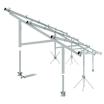 【太陽光発電システム架台】急斜面に順応可能な野立て向け 製品画像