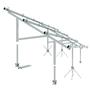 【急斜面対応の太陽光架台】傾斜地の角度は10度から40度まで適応 製品画像
