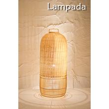 【インテリア照明】LED対応 ラタンランプ「COL170」 製品画像