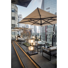 カフェ・レストランのテラス席に!大型パラソル『ステラ』 製品画像