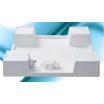 洗濯機防水パン『ベストレイシリーズ 給水栓付64嵩上げタイプ』 製品画像