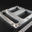 【アルミ加工】設備部品 アルミプレート/平面度も精度よく加工! 製品画像