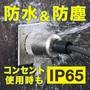 コンセント使用時も防水防塵仕様に!防水形プレート(耐塵・噴流形) 製品画像