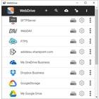 SFTP,WebDAV,Dropbox 対応のファイル転送ソフト 製品画像