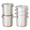 【新製品】積み重ね式テーパー型密閉容器【TP-CTH-STA】 製品画像