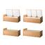 『ガスダンパー式仮眠ベッド収納』2連タイプ/3連タイプ 製品画像