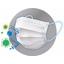 スプリトップ 不織布3層マスク 製品画像