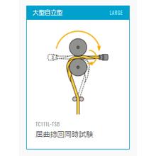 自立型耐久試験機 屈曲捻回同時試験 製品画像