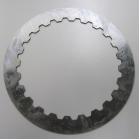 【事例】レースバイク用「クラッチプレート」ワイヤーカット・熱処理 製品画像
