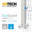 衛生的ステンレス安全柵-BlueGuard-食品・化学・製薬向け 製品画像
