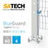 衛生的ステンレス安全柵–BlueGuard-食品・化学・製薬向け 製品画像