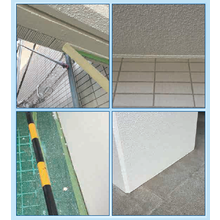 【チリ際塗装養生 リキッドクリアライン】LCL工法 製品画像