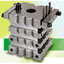 PKB ピンケンブロック、 パンチの端面加工 フライス研削  製品画像