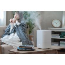 『X air・アロマディフューザー超音波加熱式加湿器』 製品画像