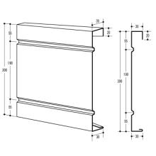 金属建材『ハナカクシパネル』 製品画像