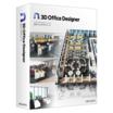レイアウト&シミュレーションソフト「3Dオフィスデザイナー11」 製品画像