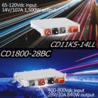 車載DCDC CD1800-28BC、CD11K5-14LL 製品画像