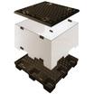段積可能 保管・荷役・輸送大型軽量コンテナボックス(通い箱) 製品画像