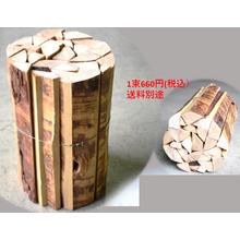 機能的なカラマツ薪 製品画像