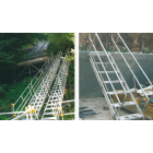 アルミ合金製傾斜自在階段『ラク2タラップ』 製品画像
