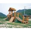 【木製】遊具施設【公園、幼稚園、保育園、遊園地など】 製品画像