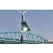 小型風力発電&ソーラーパネルによる完全自立型の街路灯システム 製品画像