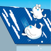 滑雪機能型フッ素樹脂塗料『ボンフロンラク雪エナメルGT』 製品画像
