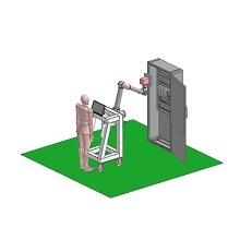 制御盤用 ラベル検査ロボット MAR7500i 製品画像