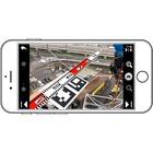 架線検査記録アプリ 製品画像